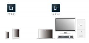 Lightroom Mobile版とDesktop版
