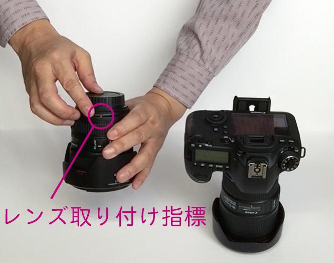 レンズ取り付け指標-1