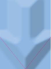矢印-下向き-水色