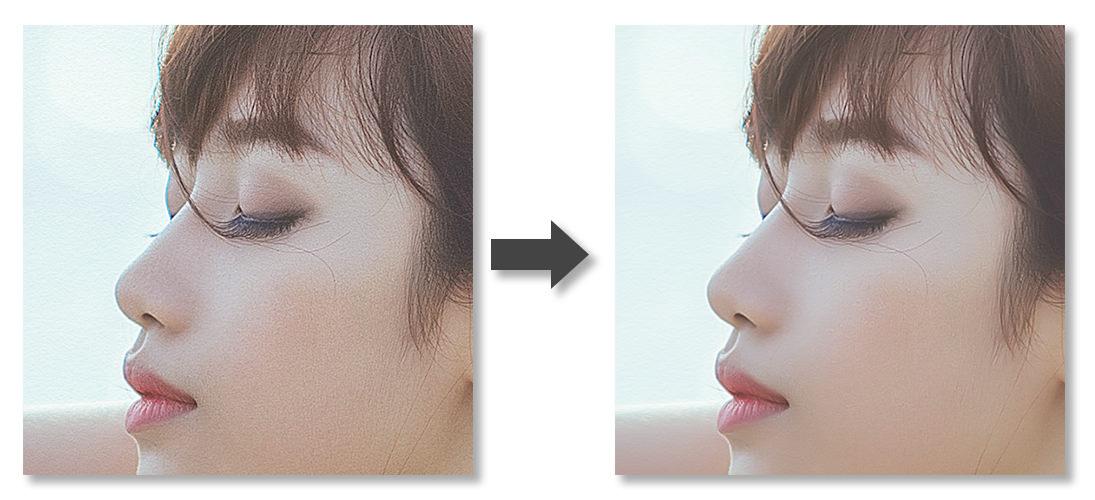 ノイズ補正-Before-After