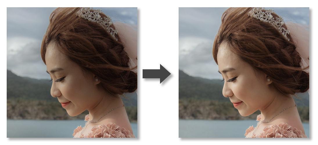 明るさ補正-Before-After