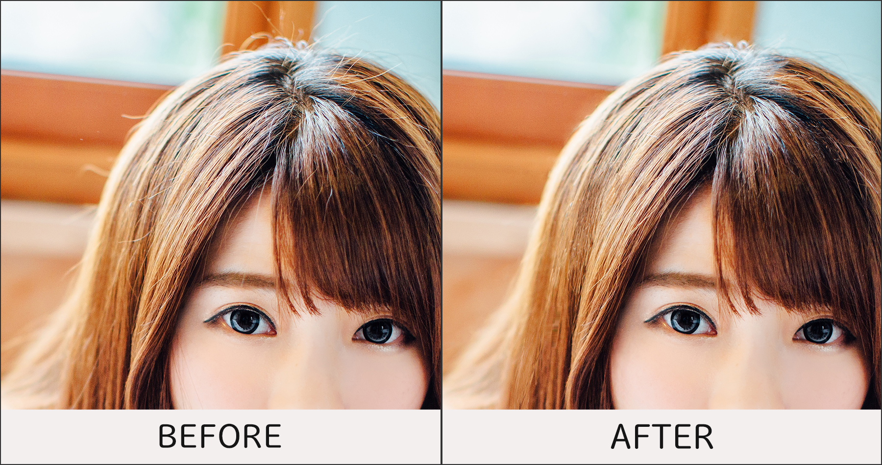 解れ毛-before-after