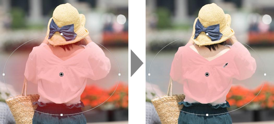 範囲マスク-適用例