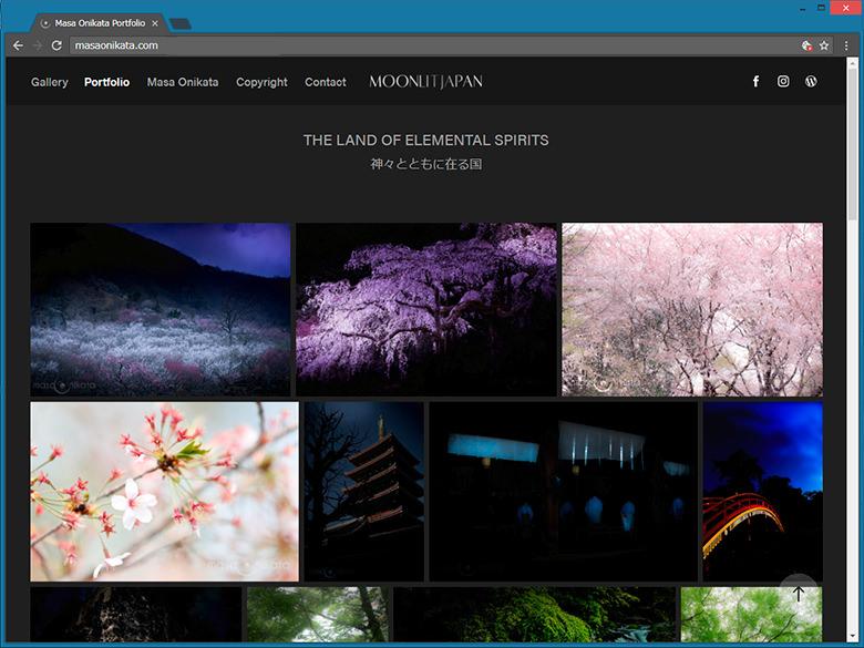 「無料!」ライトルームと連動したポートフォリオWebサイト