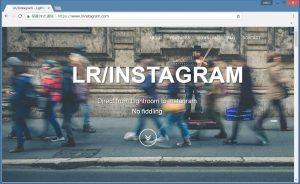 LR-Instagram Website