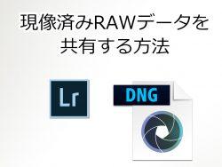 現像済みRAWデータを共有する方法-featured