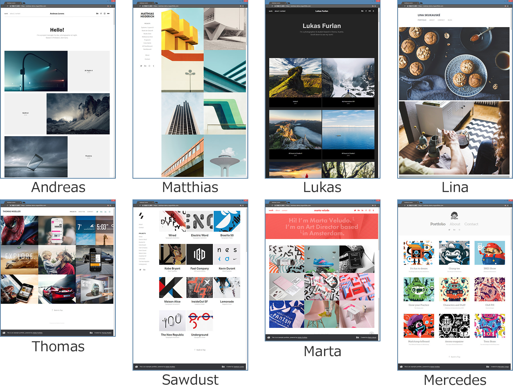 Adobe_Portfolio_Templates