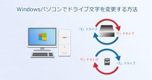Windows_ドライブ文字の変更_Main