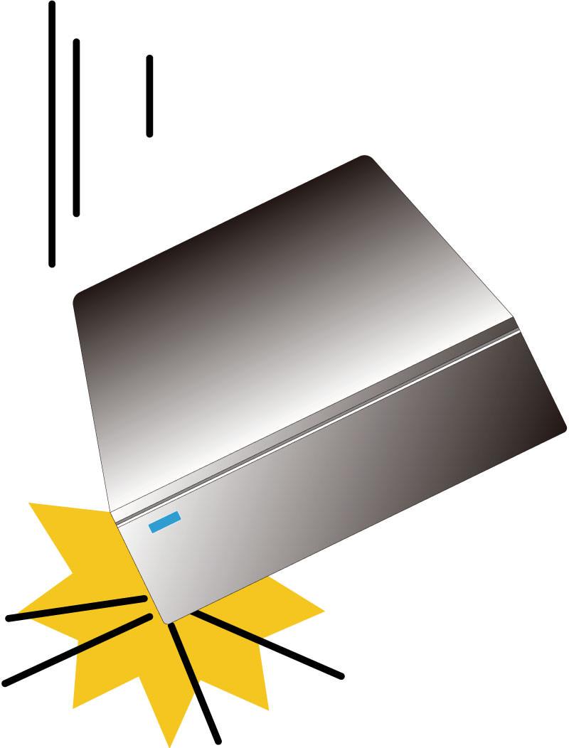 据え置き型ハードディスク破損